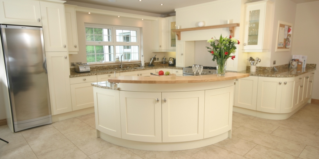 bespoke handcrafted kitchen unit in oxfordshire