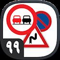 آزمون آیین نامه راهنمایی و رانندگی اصلی ۹۹+ آموزش icon