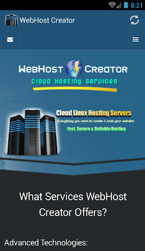 WebhostCreator