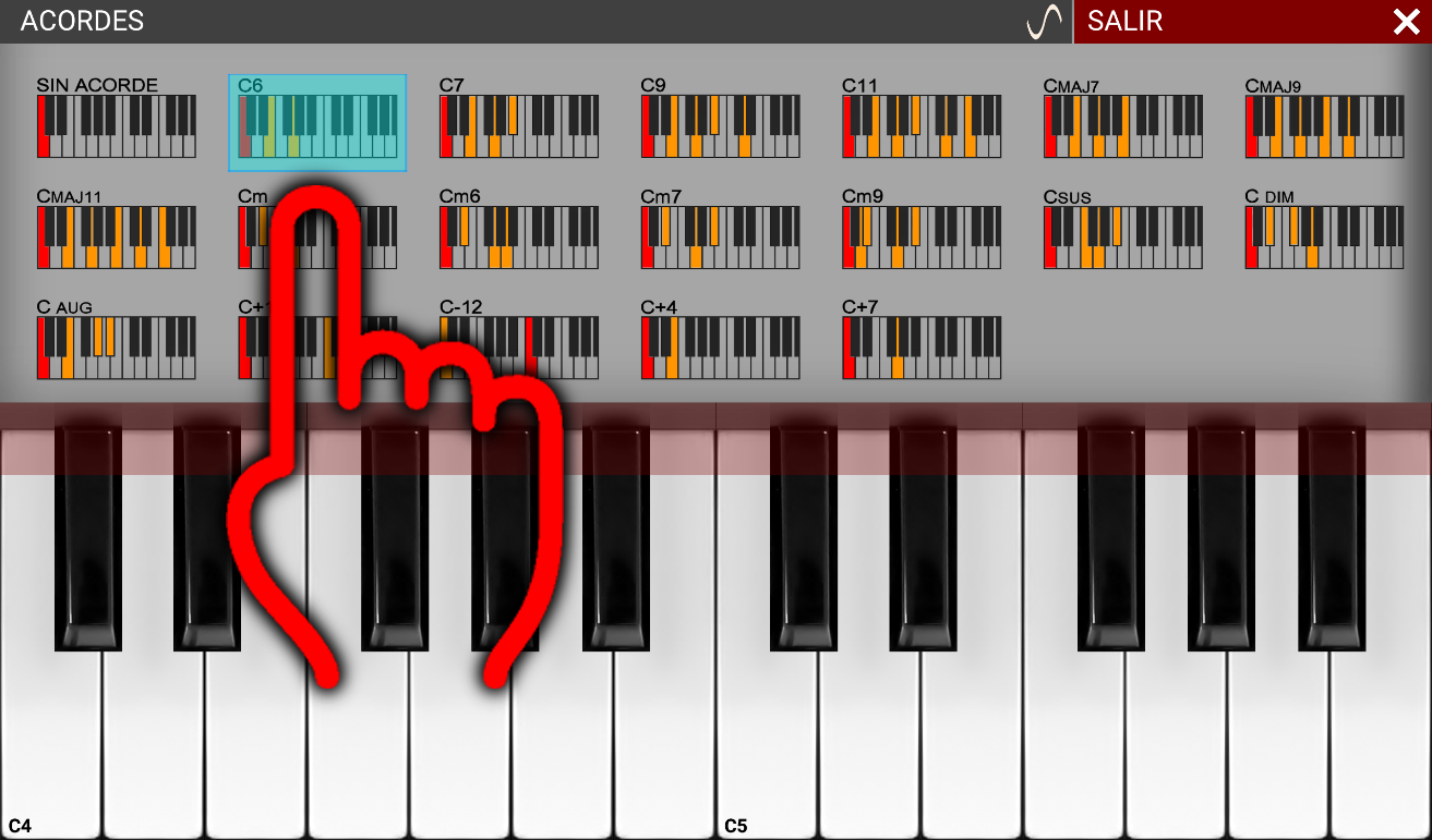 PIANO SAMPLER BETA 4.2- screenshot