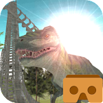 Jurassic Roller Coaster VR Icon