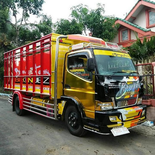 Modifikasi Mobil Truck Canter Terbaru APK
