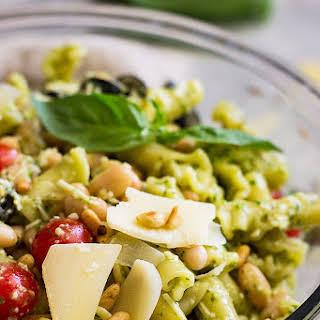 Italian Pesto Pasta Salad.