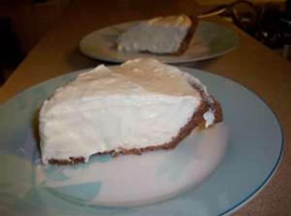 Non Alcoholic Irish Cream Mousse Pie