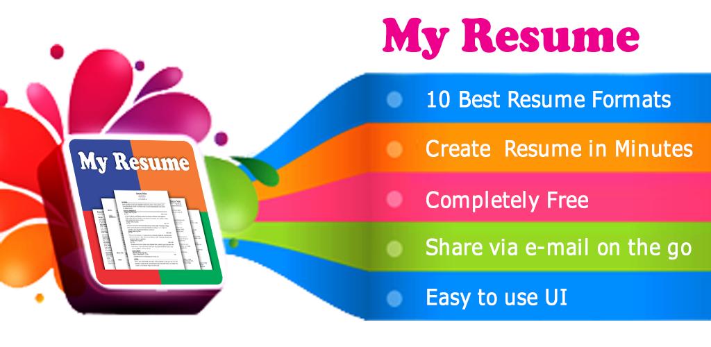 download resume builder app free