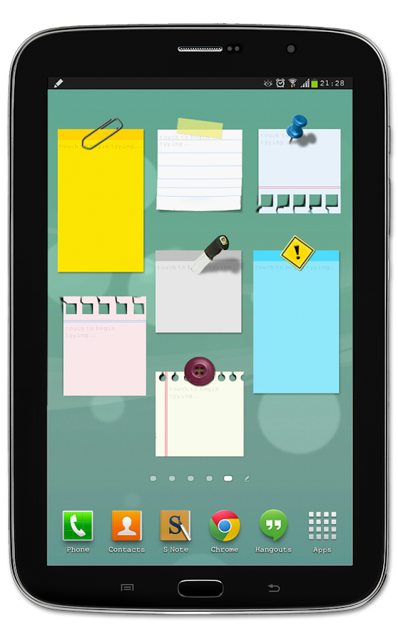 Sticky Notes + Widget memo- screenshot
