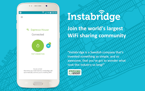 Instabridge - Free WiFi screenshot 0