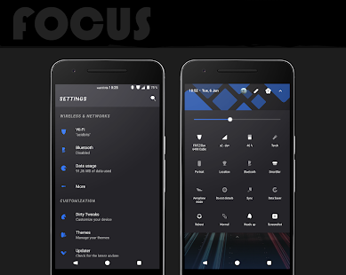 Focus || Substratum Theme Screenshot