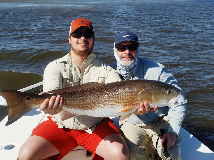 Huge Red Fish