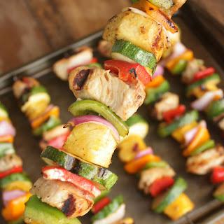 Chicken and Veggie Kabobs Recipe