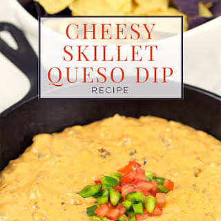 Cheesy Skillet Queso Dip.