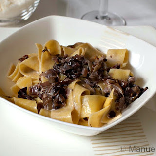 PAPPARDELLE with RADICCHIO and SPECK Recipe