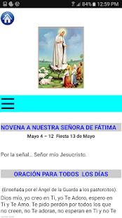 Novena a la Virgen de Fatima - náhled