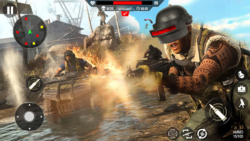 Commando Shooting Games 2020 - Cover Fire Action filehippodl screenshot 24
