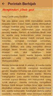 Hukum Berhijab Fiqih Wanita - náhled