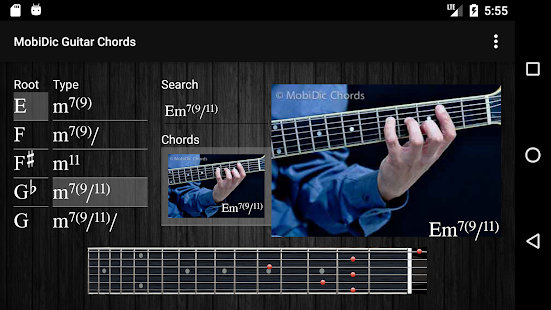 MobiDic - Guitar Chords - Apps on Google Play