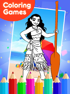 Coloring Games for moanaa  Android Apps on Google Play