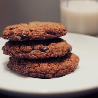 Keto Almond Butter Chocolate Chip Cookies.