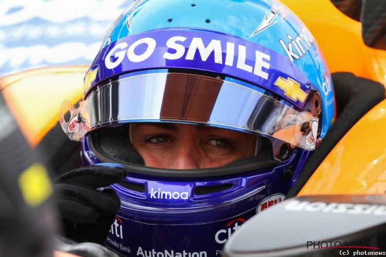Fernando Alonso rijdt snelste tijd in Abu Dhabi, derde plaats voor Stoffel Vandoorne