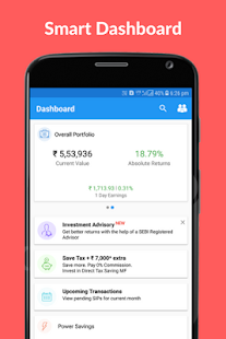 WealthTrust: Mutual Fund App - náhled