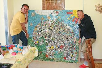 Photo: Laboratorio di mosaico: mosaico di gruppo