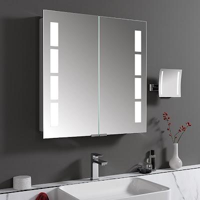 Moderne Motion-Technologie für Spiegelschränke