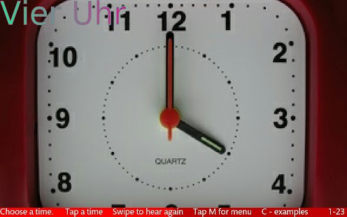 Tell The Time In German 1 - náhled