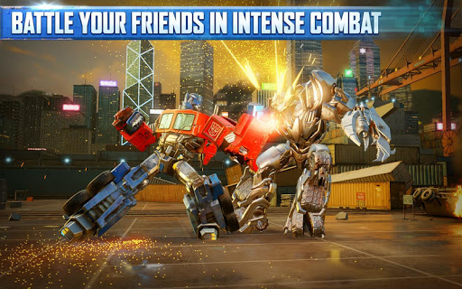 (APK) تحميل لالروبوت / PC TRANSFORMERS: Forged to Fight ألعاب screenshot