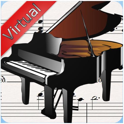 虚拟钢琴乐器 音樂 App LOGO-硬是要APP
