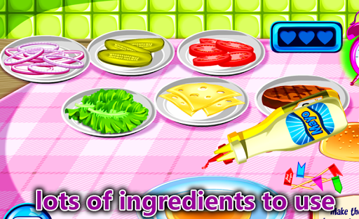 免費下載休閒APP|Cooking For Girls Burger Chef app開箱文|APP開箱王
