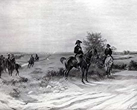 Photo: The Duke of Wellington watches the French advance during the Battle of Waterloo