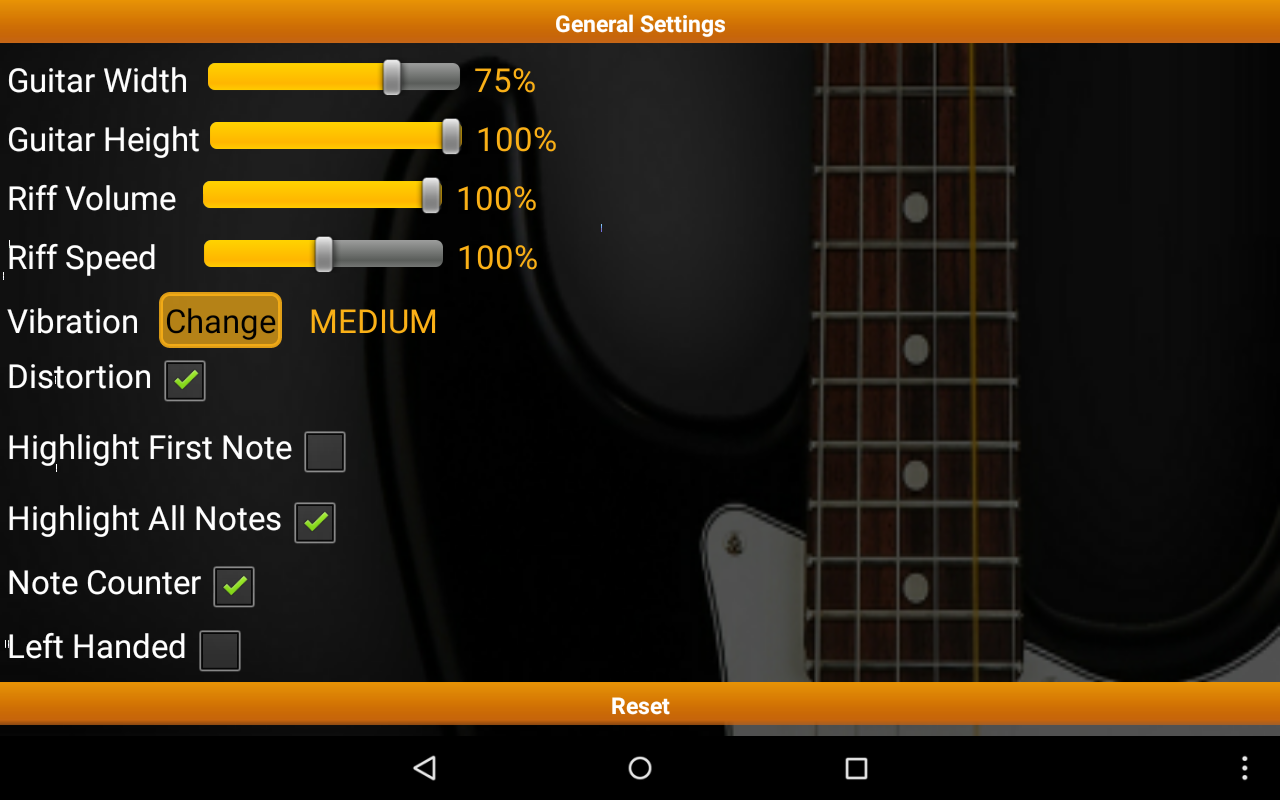 Guitar Riff Pro - screenshot