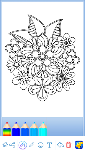 Mandala: Coloring for adults screenshots 2