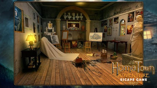 Escape game:home town adventure - náhled