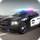 Persecución coche de policía icon