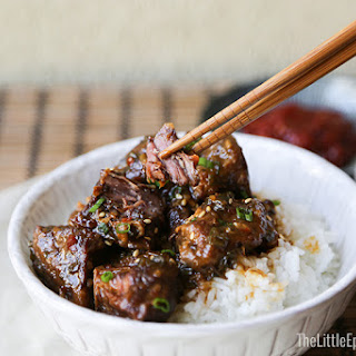 Slow Cooker Asian Braised Beef.