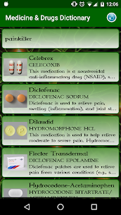 Medicine & Drugs Dictionary App Download For Android 4