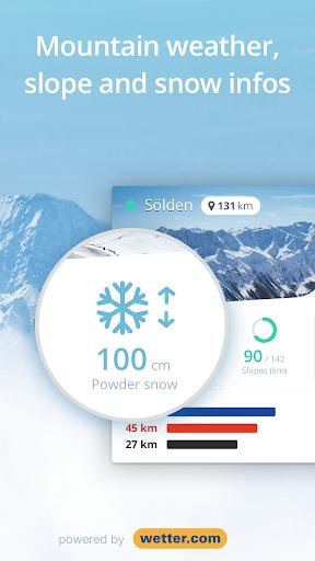 Snowthority: ski, snow, lift, slope map & ski info 1.36.0 screenshots 2