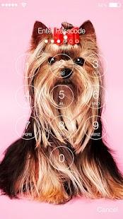 Yorshik Yorkshire Terrier Lock Screen - náhled