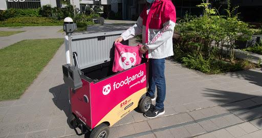 Foodpanda partners startups to trial food delivery via autonomous robots in NUS, NTU, Punggol
