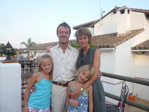 Photo: Family shot before dinner