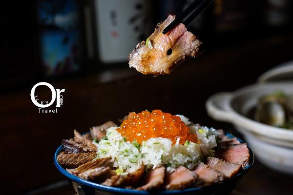 一氣爐端燒 東區串燒居酒屋、超狂炭火厚切牛舌丼不點會捶心 北海道木槳送餐