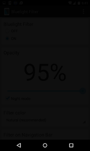 Bluelight Filter - Night Mode v2.0.1