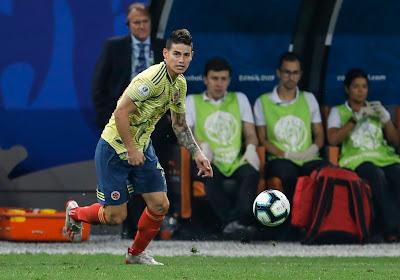 James Rodriguez pisté par deux clubs de Premier League