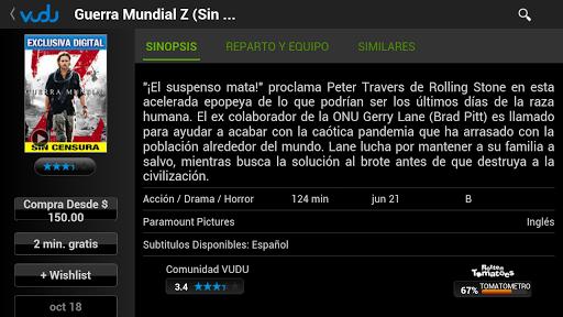 VUDU - Películas HDX screenshot 9