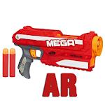 Nerf Shooter AR 3D Hologram