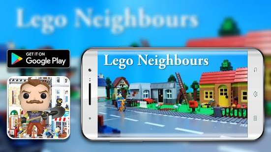 Guide for lego Hello Neighbor Alpha game - náhled