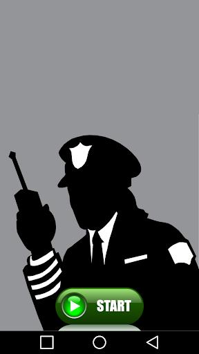 警察無線のいたずら
