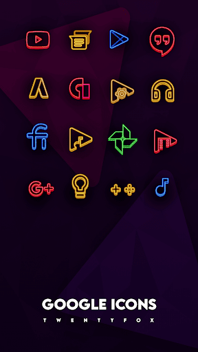 Neon Ray Icons -  Icon pack ss2