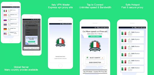Italy VPN Master - Express VPN Proxy Site - Apps on Google Play